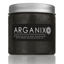 Moroccan Black Soap (Savon Noir) with Argan and Eucalpyptus Oil