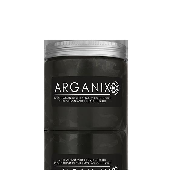 Moroccan Black Soap with Argan and Eucalpyptus Oil